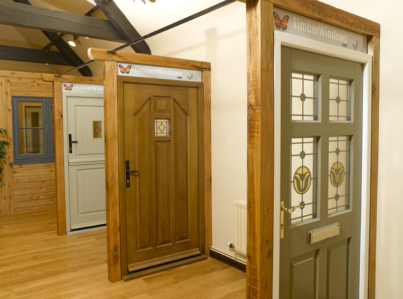 Visit our Beautiful Timber Windows Showroom near the Chew Valley Lake